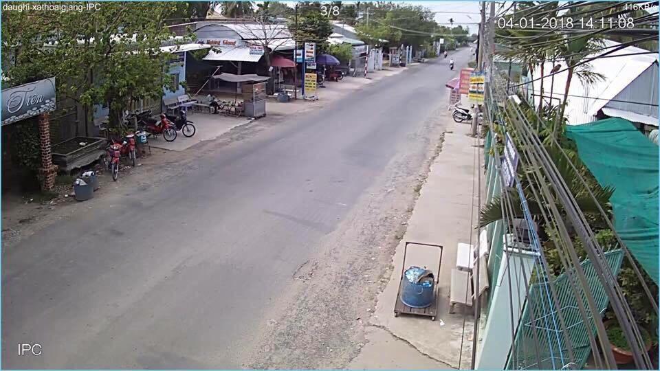 Công trình camera đường phố xã Thoại Giang