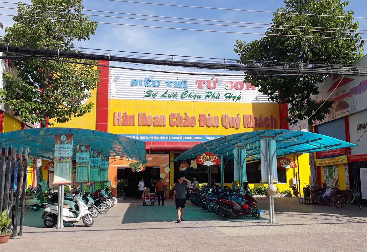 Công trình camera siêu thị Tứ Sơn